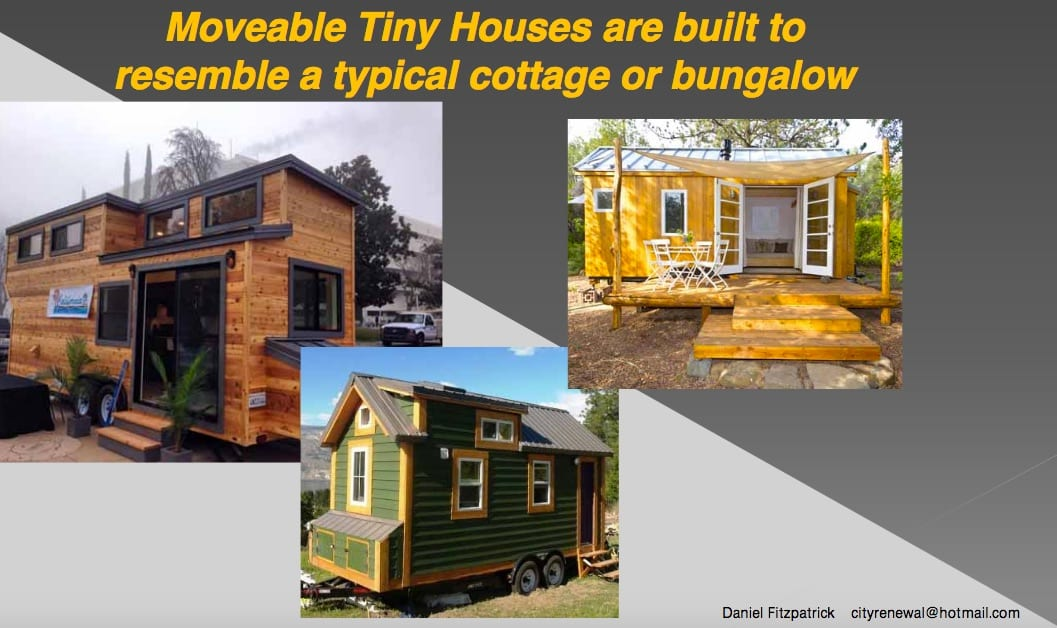 Jurisdictions Allowing Movable  Tiny Homes