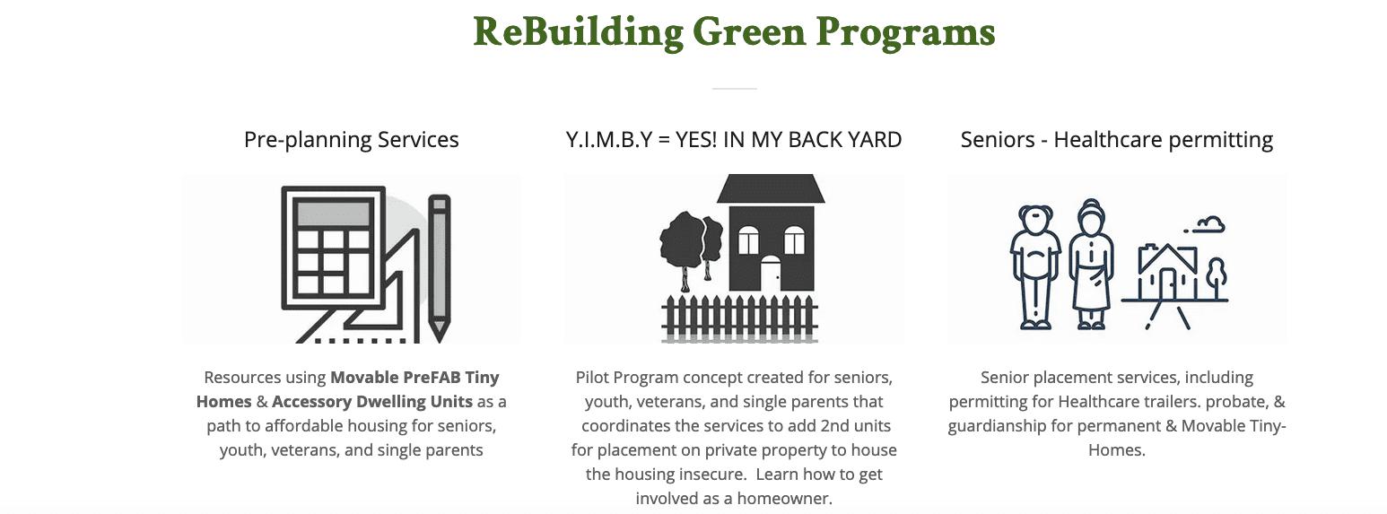 Rebuilding Green
