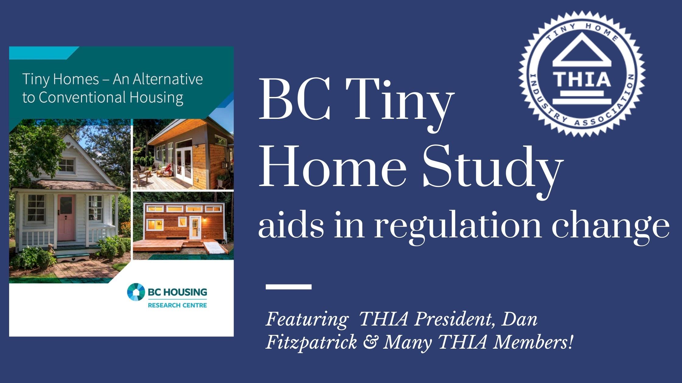 British Columbia Tiny Homes Report to Aid Regulation Change